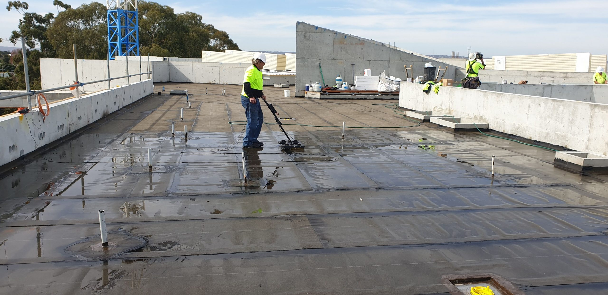 PACT - Faulkner Road Belmont Roof Slab scan